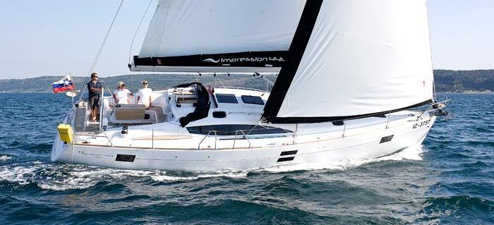 парусная лодка Елан 444 Импрессион