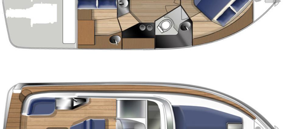 моторная лодка Елан 30 Поwер