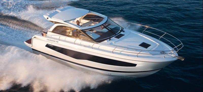моторная лодка Leader 40