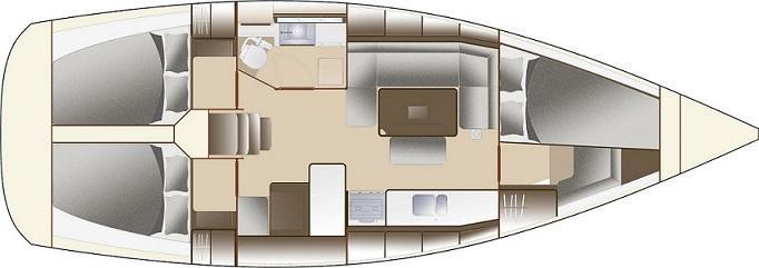 парусная лодка Дуфоур 375