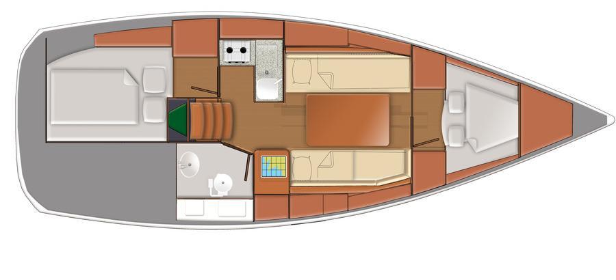 парусная лодка Delphia 31