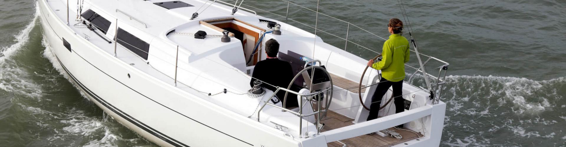 парусная лодка Hanse 375