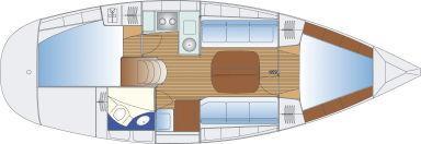 парусная лодка Бавариа 32
