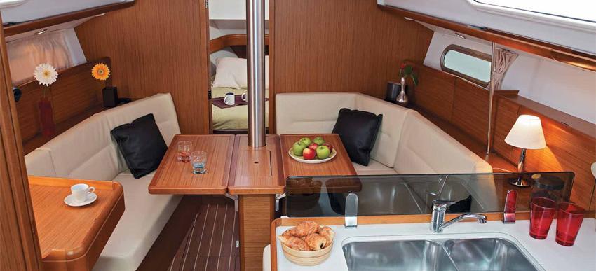 парусная лодка Сун Одыссеы 36и