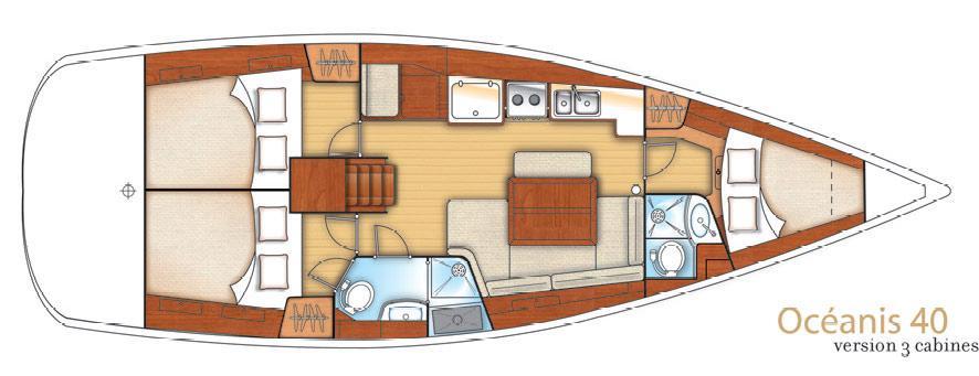 парусная лодка Оцеанис 40