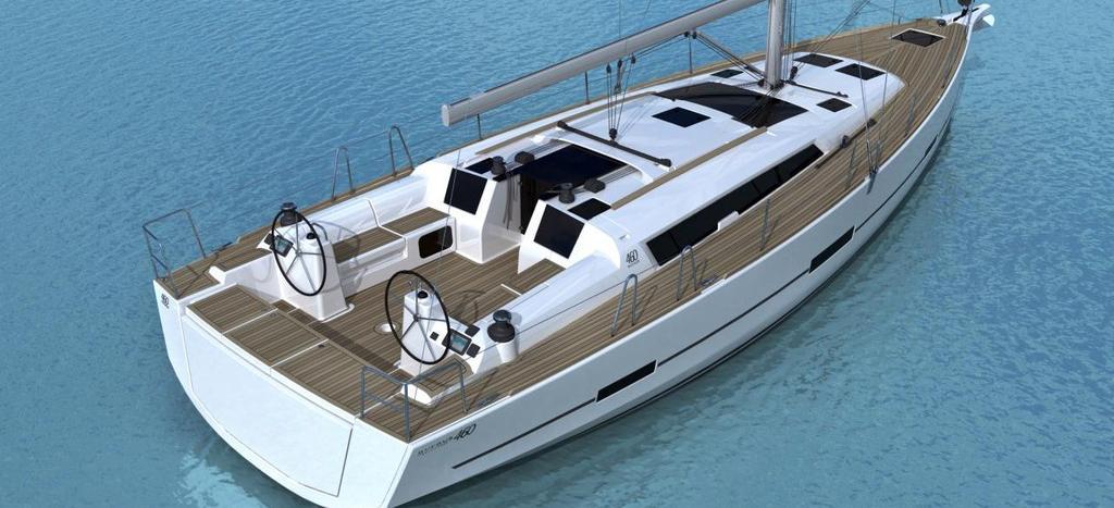 парусная лодка Дуфоур 460 ГЛ