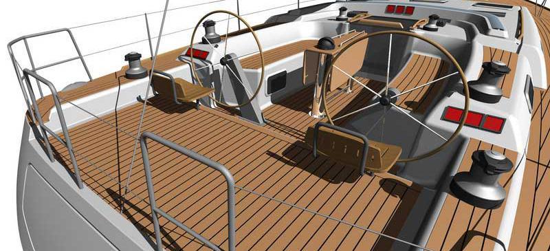 парусная лодка Дуфоур 525