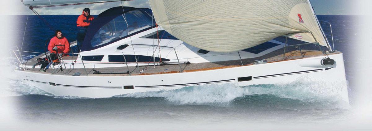 парусная лодка Елан 450