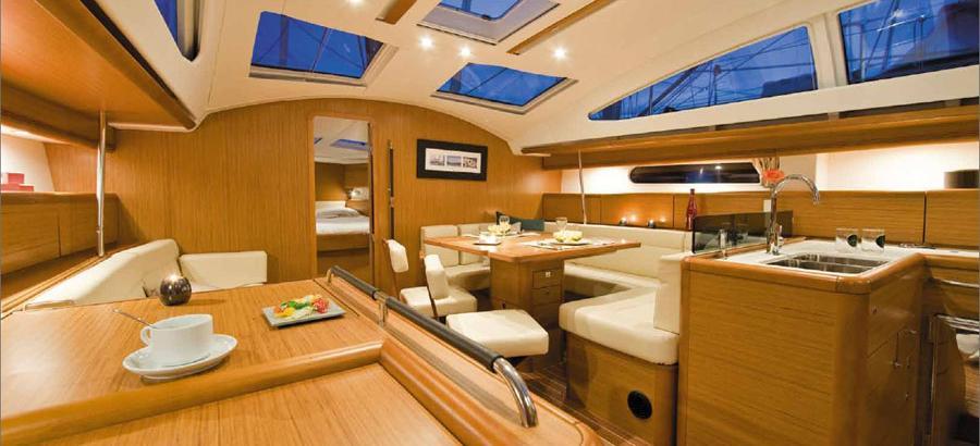 парусная лодка Сун Одыссеы 50ДС