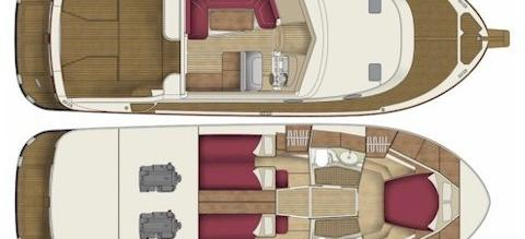 моторная лодка Адриана 44