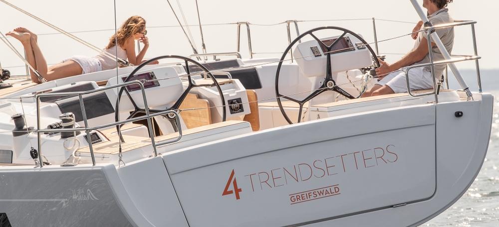 парусная лодка Hanse 458