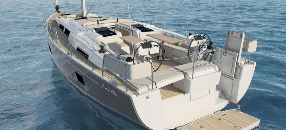 парусная лодка Hanse 508