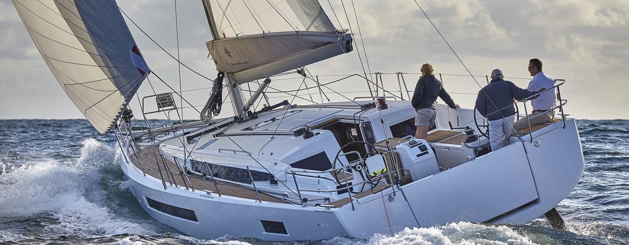 парусная лодка Sun Odyssey 490