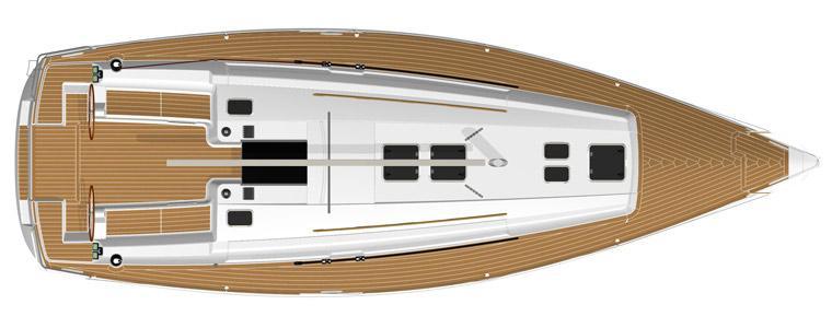 парусная лодка Дуфоур 405