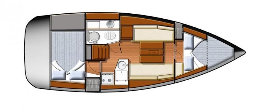 парусная лодка Сун Одыссеы 30и