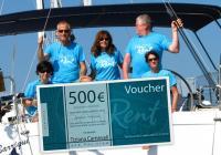 Победитель конкурса 2014 года получил ваучер на 500 евро!