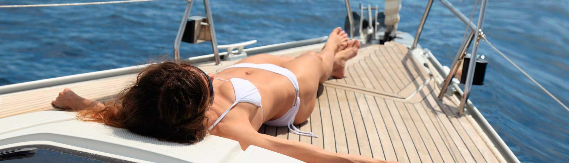 Расслабьтесь и насладитесь солнцем