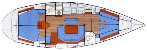 парусная лодка Бавариа 46