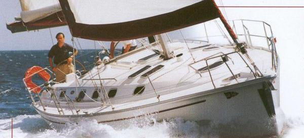 парусная лодка Гиб`сеа 43