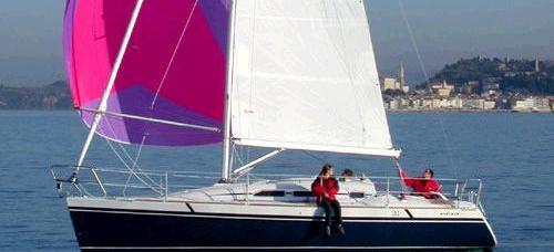 парусная лодка Елан 31