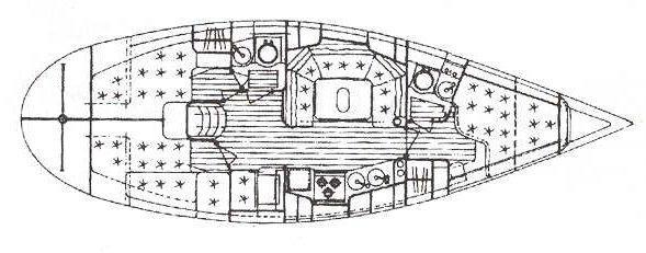 парусная лодка Елан 38