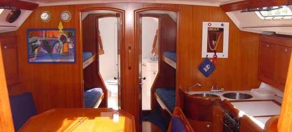 парусная лодка Елан 431